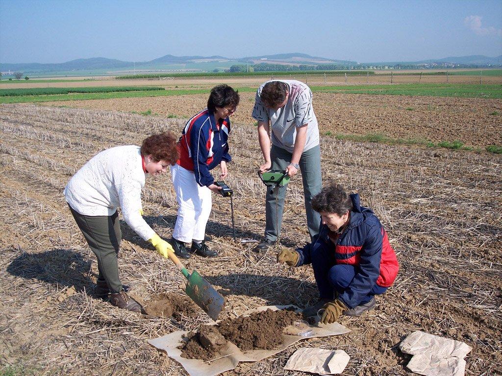 Sledovanie kvality prostredia v rôznych agroekosystémoch